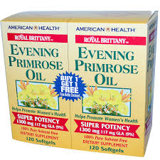Evening Primrose Oil For Hair Loss American Health Royal Brittany Evening Primrose Oil 1300 Mg 2