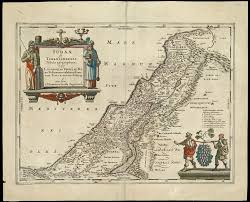 Judea Map A Geographical Rendering Of Judaea Or The Land Of Israel In