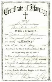 catholic marriage certificate transcription 2nd marriage certificate of herve ducharme and