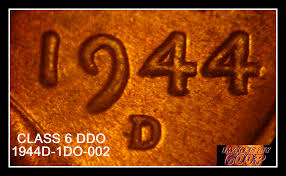 mds class 1944d 1do 002 mds class 6 doubled die obverse ddo coin