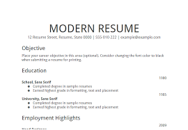 Highlights On A Resume Examples Of Objectives On A Resume Resume Example And Free