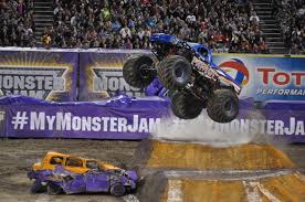 next monster truck show trail mixed memories roaring good time at monster jam anaheim
