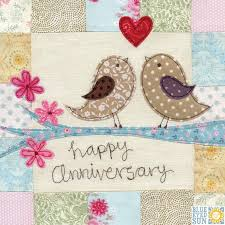 wedding anniversary cards birds on a branch anniversary card large luxury wedding