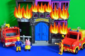 fireman sam saves peppa pig gotham fire jupiter venus