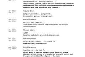 Sample Truck Driver Resume by 14 Forklift Operator Resume Sample 2 Sample Resumes Forklift