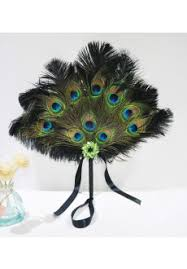 peacock feather fan buy peacock feather fan at reasonable price
