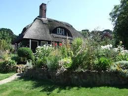 cottage garden design landscape farmhouse with herbaceous border