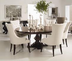 White Wood Dining Room Table by Bernhardt Interiors Wood Plank Round Pedestal Dining Table