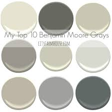 benjamin moore paint colors my top 10 benjamin moore grays city farmhouse