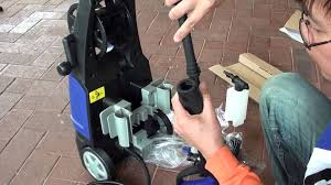 how to assemble scorpion pressure washer youtube