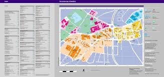 U Of A Campus Map Campus Map With A Z Index Maps And Travel Advice Visitors