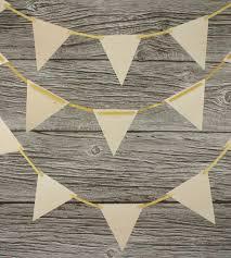 wood pennant flag garland home decor u0026 lighting wonderful
