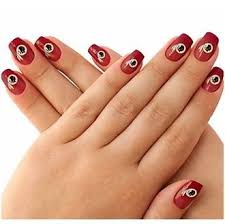 nail art made easy with these redskins nail stickers wow