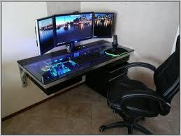 Gamer Desk Chair Best 25 Custom Gaming Desk Ideas On Pinterest Computer For