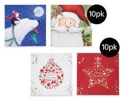 handmade christmas cards 10pk aldi australia