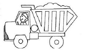garbage truck coloring pages preschoolers preschool crafts