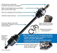 Cv Half Shaft Assembly by Automotive Cv Axles Trakmotive