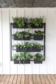 wall mounted planters best 25 herb wall ideas on pinterest kitchen herbs wall herb