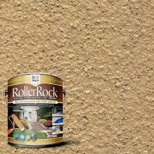 daich rollerrock 1 gal self priming harvest tan exterior concrete