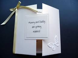 gatefold wedding invitations gate folded wedding invitation with mummy are getting