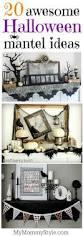 20 halloween mantel decorating ideas my mommy style