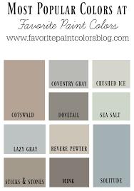 most popular colors for 2017 color combinations favorite paint colors blog