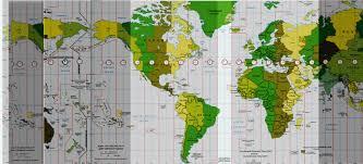 utc zone map zones utc gmt 2