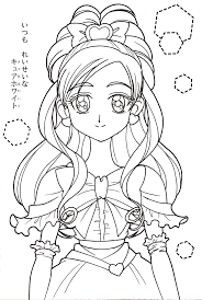 pretty cure coloring pages google search coloring sheet