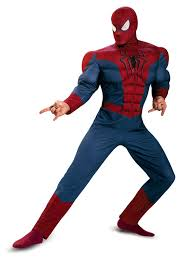 halloween spiderman costume spider man movie 2 muscle chest costume buycostumes com