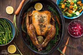 garlic herb butter roasted turkey made sweeter