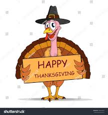 happy thanksgiving turkey stock vector 528418903