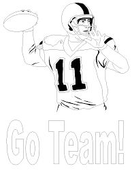 Football Football1 Sports Coloring Pages Coloring Book Football Coloring Page