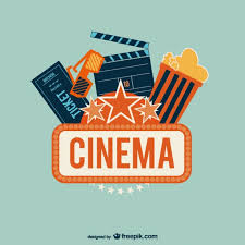 free vector art images graphics for free download cinema logo with popcorn vector free download
