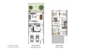 mag eye townhouses in meydan mag properties floor plan details