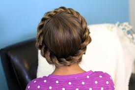 cute girl hairstyles how to french braid crown rope twist braid updo hairstyles cute girls hairstyles