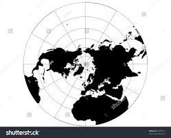 Northern Hemisphere Map Vector Map Northern Hemisphere Map Grid Stock Vector 22769131