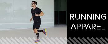 find cool running apparel for and