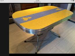 kitchen furniture ottawa this retro chrome and formica kitchen table was on kijiji in