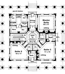 Pier Foundation House Plans Classical Style House Plan 3 Beds 3 50 Baths 4500 Sq Ft Plan 64 321