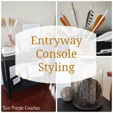 Entryway Console Table Entryway Archives Two Purple Couches