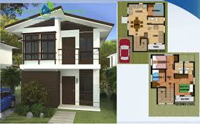 Floor Plan And Perspective Ready For Occupancy Kasandra 2 Storey Aspen Heights Subdivision
