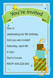 boy birthday free printable birthday invitation template