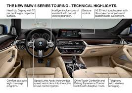 all new 2017 bmw 5 series touring targets sporty families