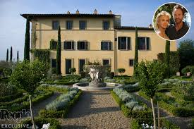 sting and wife trudie u0027s 16th century tuscan villa people com
