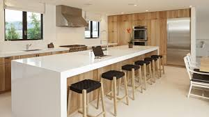 kitchen island average size kitchen islands decoration clean lines in this kitchen with waterfall countertops