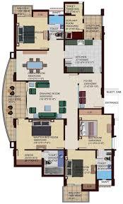 Servant Quarters Floor Plans 2 Bhk 3 Bhk 4 Bhk Flats In Dehradun Design Home Developers