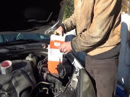 fuel filter change step by step youtube