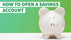 how to open a savings account gobankingrates