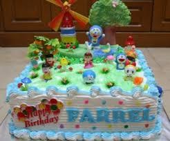cara membuat hiasan kue ulang tahun anak gambar kue ulang tahun kartun dari bahan unik kumpulan gambar