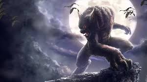 halloween background animated werewolf animated wallpaper http www desktopanimated com youtube